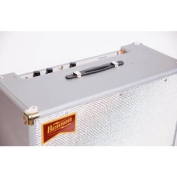 Benson Amps Monarch W/Reverb Combo, Custom Silver!