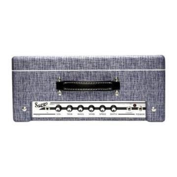 Supro 1622RT Tremo-Verb 25W 1x10 Tube Guitar Combo Amp Blue Rhino Hide #32785