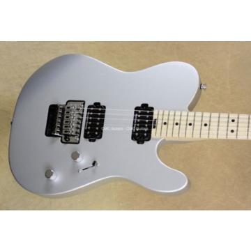 Charvel 2017 Pro Mod San Dimas Style 2 Tele HH Satin Silver Guitar - In Stock!