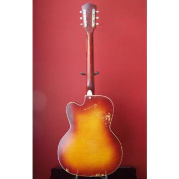 60'S RARE SILVERTONE HARMONY GUITAR KAY SUPRO NATIONAL