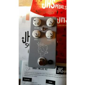 JHS Pedals Twin Twelve Channel Drive Guitar Effects Pedal, NEW!