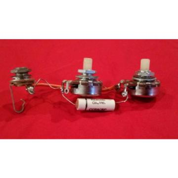 VINTAGE 1965 USA SUPRO  GUITAR WIRING HARNESS NYLON POTS  AIRLINE NATIONAL RARE