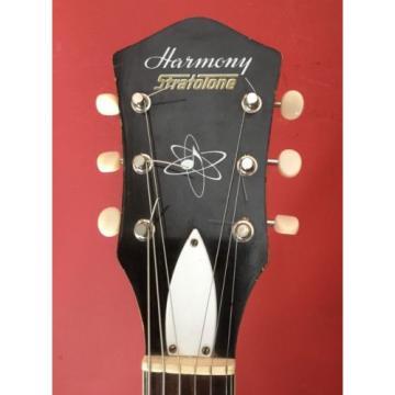 60'S  RARE HARMONY STRATOTONE GUITAR KAY  SILVERTONE SUPRO NATIONAL
