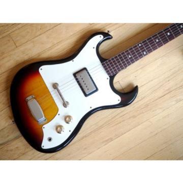 1966 Custom Kraft Ambassador Deluxe 4166 Vintage Guitar Valco Supro w/ Case