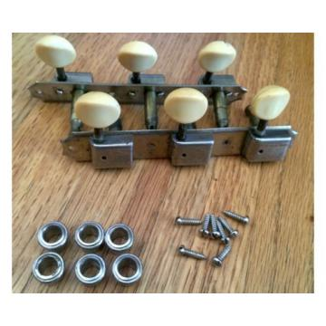 60's Kluson Deluxe Tuners 3X3 For Gibson, Supro W/ Ferrules And Screws