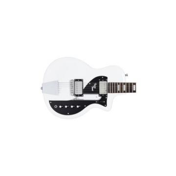 AIRLINE TWIN TONE DOUBLE CUT WHITE GUITAR
