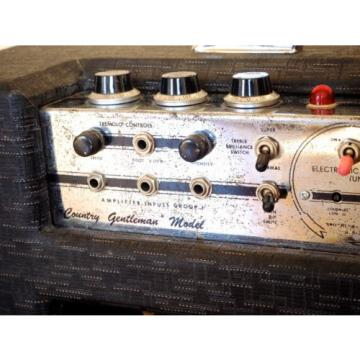 1962 Gretsch 6160 Chet Atkins Country Gentlemen Vintage Guitar Amp Valco Supro