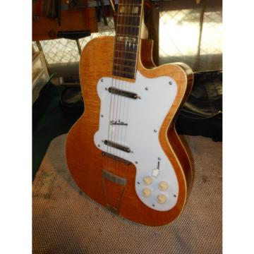 60'S Vintage (Jimmy Reed) RARE SILVERTONE HARMONY GUITAR KAY SUPRO NATIONAL