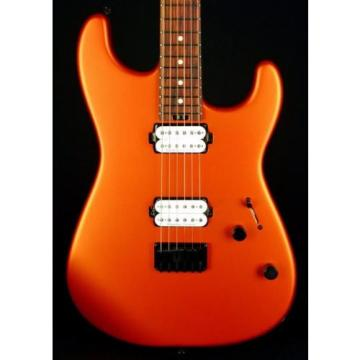 New! Charvel PM SD1 Pro Mod San Dimas HH Guitar Hard Tail - Satin Orange Blaze