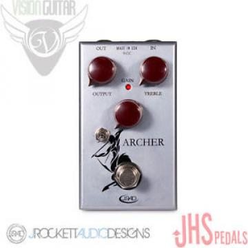 "NEW! J. Rockett Archer Overdrive Boost Pedal - JHS ""Katniss"" Mod"