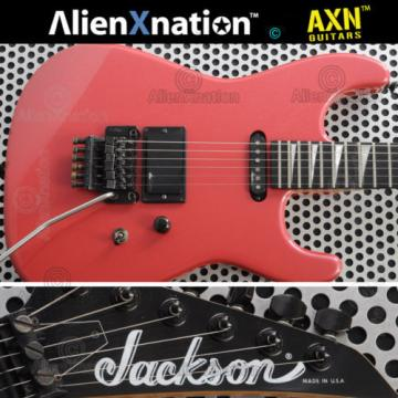 Vintage 1987 Jackson USA Guitar Ferrari Red Metallic charvel