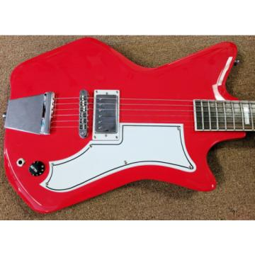 Airline by Eastwood Guitars, '59 1P Reissue Red, Unique, Mahogany, Single Volume