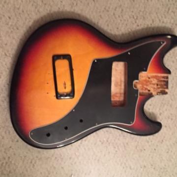 Vintage Guitar Body + Bezel Airline Supro Teisco Kimberly Fender Jaguar Mustang