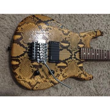 Snakeskin Guitar
