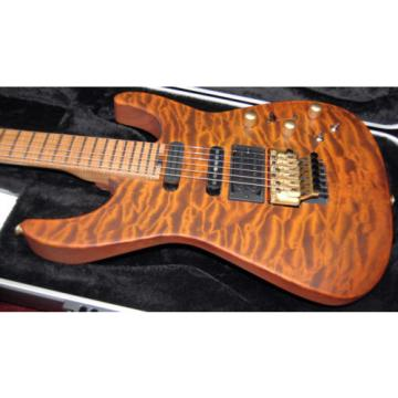 NEW! Jackson USA Signature Phil Collen PC1 Satin Amber 2017 Quilt IN STOCK! RARE