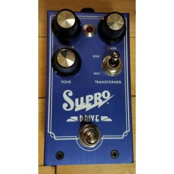 Supro Drive Preamp Overdrive Pedal
