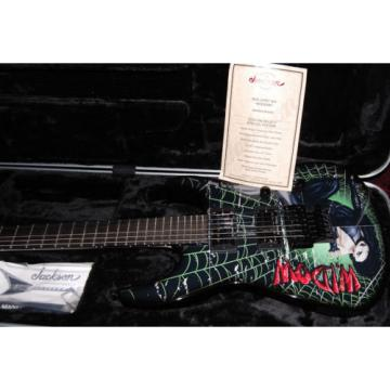 Jackson Custom Shop Soloist SL2 Limited Edition Widow Graphic by Mike Whelan