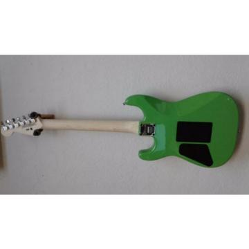 Charvel Pro Model SD1 2H FR Slime Green Bundle