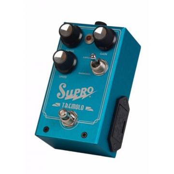 Supro 1310 Tremolo Analog Guitar Effects Pedal