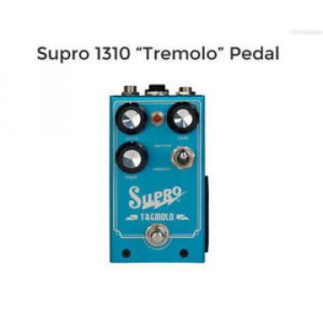 NEW SUPRO 1310 TREMOLO GUITAR EFFECTS PEDAL w/ FREE CABLE FREE US SHIPPING