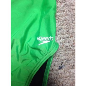 Speedo Woman's Pro LT Supro-A  Swimsuit Size 30 Hyper Green NWT Performance