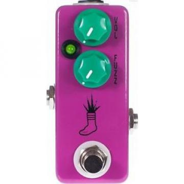 USED JHS PEDALS MINI FOOT FUZZ GUITAR EFFECTS PEDAL w/ 0$ US SHIPPING