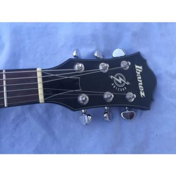 Ibanez AS73B Black Flat Semi-hollowbody Electric Guitar With Charvel J90c Pickup