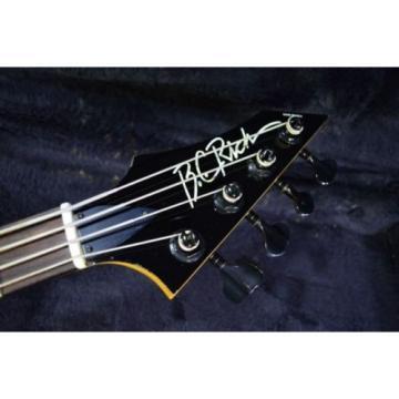 B.C.Rich USA Gunslinger Bass / Snake Skin From JAPAN/957