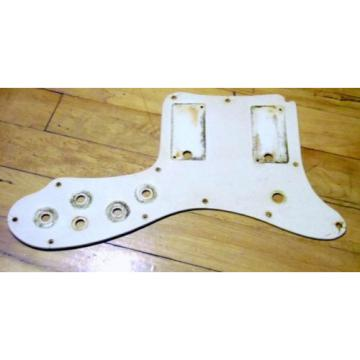 1966 Supro S613 S603 Pickguard For 2 Pickup Solidbody Guitars 1965 MK1 Valco USA