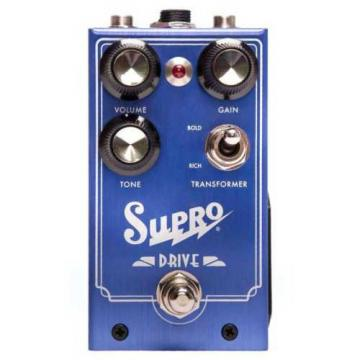 Supro 1305 Drive - Analog Class A Overdrive Guitar Effects Pedal