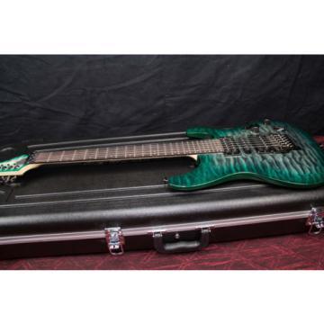 Ibanez S5570Q - Dark Green Doom Burst Electric Guitar  031306