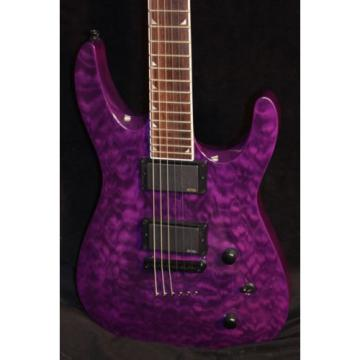 Jackson SLATTXMGQ3-6 Soloist - Transparent Purple