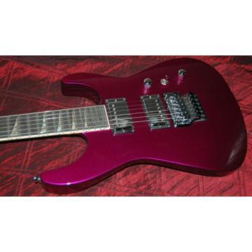 Jackson Custom Shop Purple Prune Metallic Silver Hardware SL2 Soloist USA SAVE!