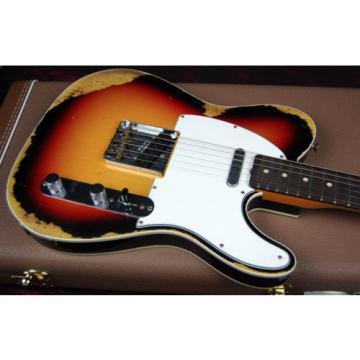 2017 Fender 1960 Heavy Relic Telecaster Custom Tele Handwound P/Us 7lbs 2oz