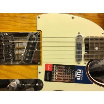 2016 Fender American Elite Telecaster Tele Tobacco Sunburst W/HSC