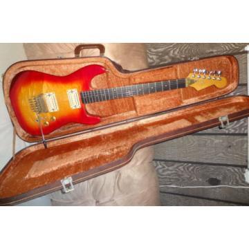 Vintage STRAT type Electric Guitar ESP Neckplate