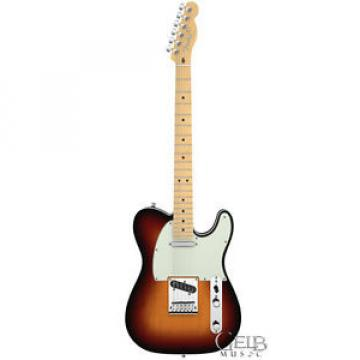 Fender American Deluxe Telecaster Pro Guitar in Sunburst with Case - 0119402700