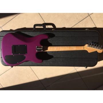 Warmoth/Charvel! Amazing AAA Flame Neck!!! Lefty Left Hand Fender Case!