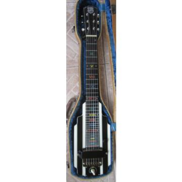 1940 National New Yorker Lap Steel Hawaiian Guitar, Rare Version with Geib Case