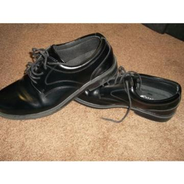 Deer Stag shoes men dress oxfords black leather SUPRO sock technology sz 12W