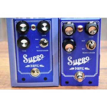 Supro USA 1305 Drive Overdrive Guitar Bass Effect Pedal