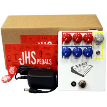 JHS Colour Box Guitar/Microphone/Line-level Sources Preamplifier Pedal (Whi
