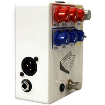 JHS Colour Box Guitar/Microphone/Line-level Sources Preamplifier Pedal (Whi