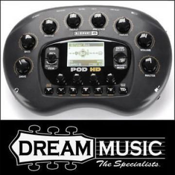 LINE 6 Pod HD Guitar Multi-Effects Processor / Amp Modeller RRP$849