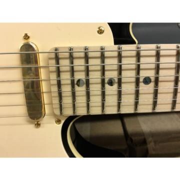 Fender Richie Kotzen Telecaster Tele Maple Neck Brown Sunburst Signature Model!