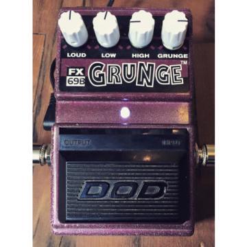 Modify your DOD Grunge Distortion Mod service Only! Alchemy Audio Pedal Mod
