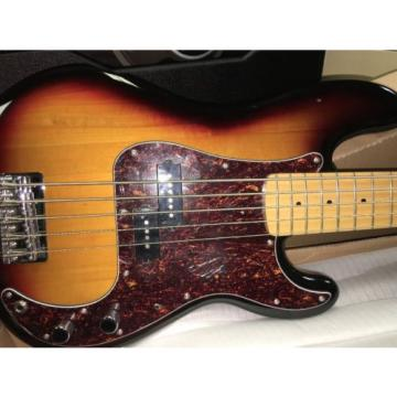NOS 2014 Fender Squier Vintage Modified P-Bass 3 Tone Sunburst