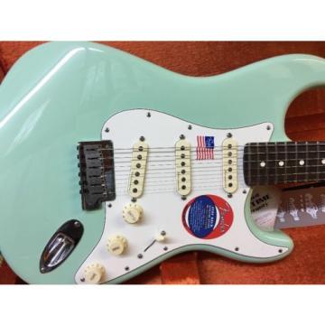 Fender Artist Series Jeff Beck Stratocaster Electric Guitar  Surf Green