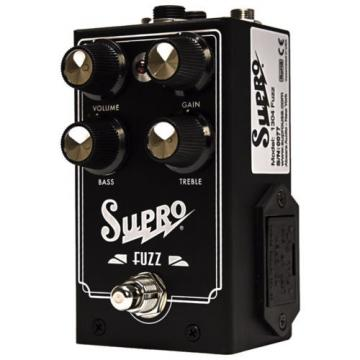 Supro 1304 Fuzz NOS Germanium Guitar Effects Pedal Distortion Thomas Elliott USA