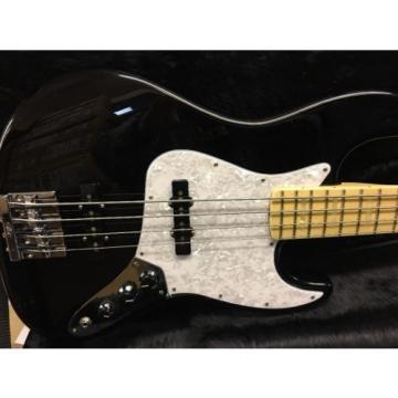 Fender USA Geddy Lee Signature Jazz Bass  Black Maple Neck
